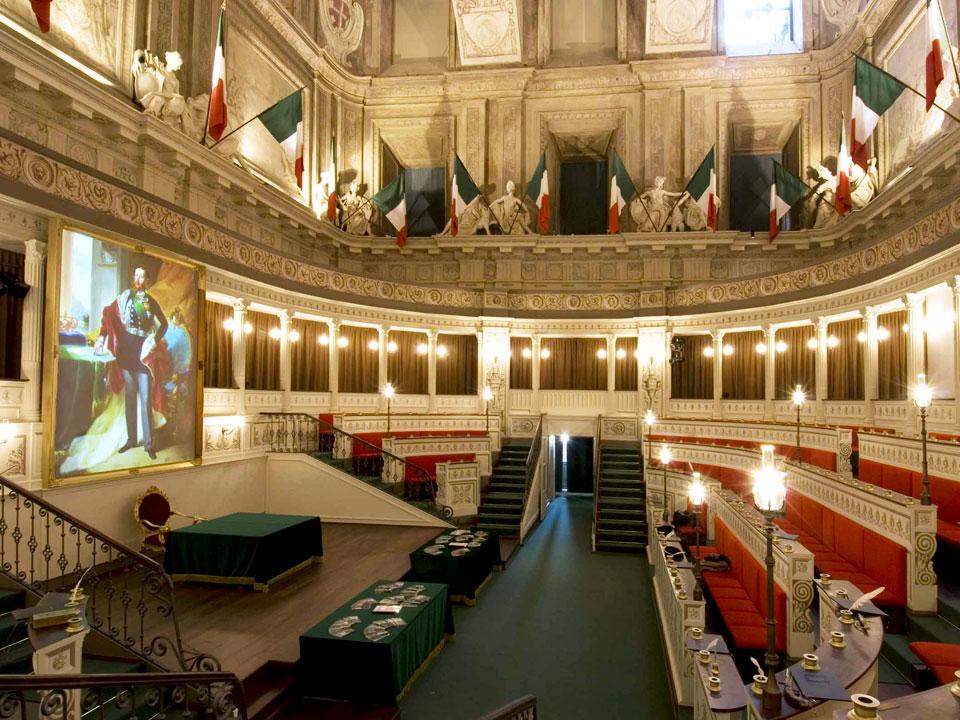 Ricostruzione del primo senato d italia ds21 for Senato italia